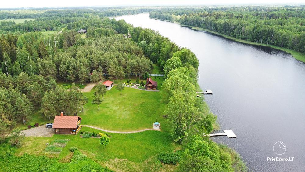 Landgehöft am Ufer des Sees Villa Jurate - 1