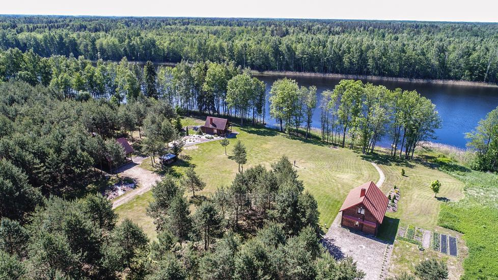 Wiejska rezydencja nad brzegiem jeziora Villa Jurate - 15
