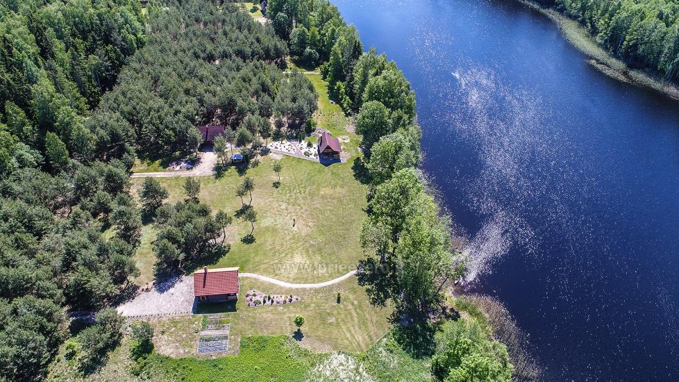 Wiejska rezydencja nad brzegiem jeziora Villa Jurate - 16