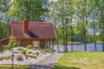"Countryside homestead on the lake shore ""Villa Jurate"""