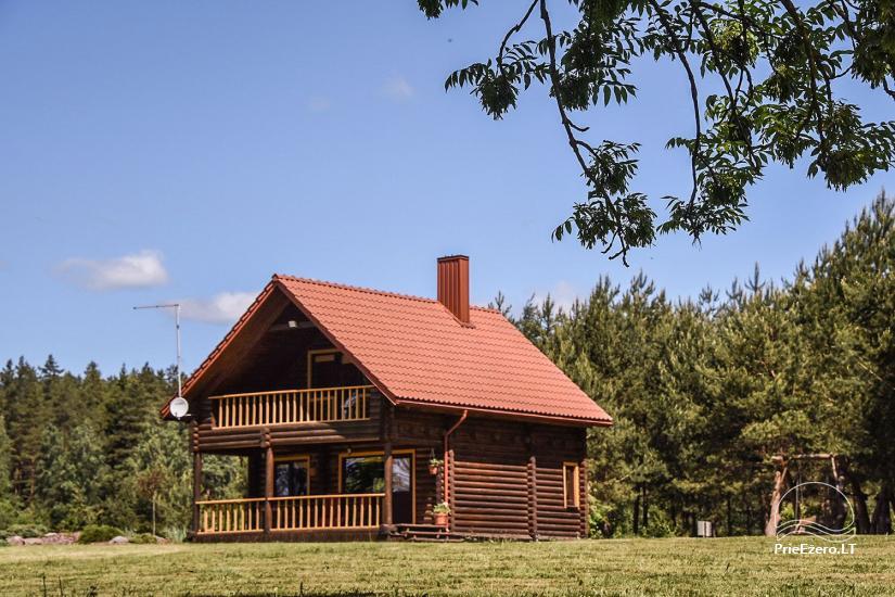 Countryside homestead on the lake shore Villa Jurate - 1