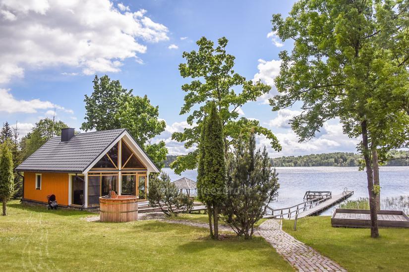 Countryside homestead near the lake Virintu in Lithuania - 21