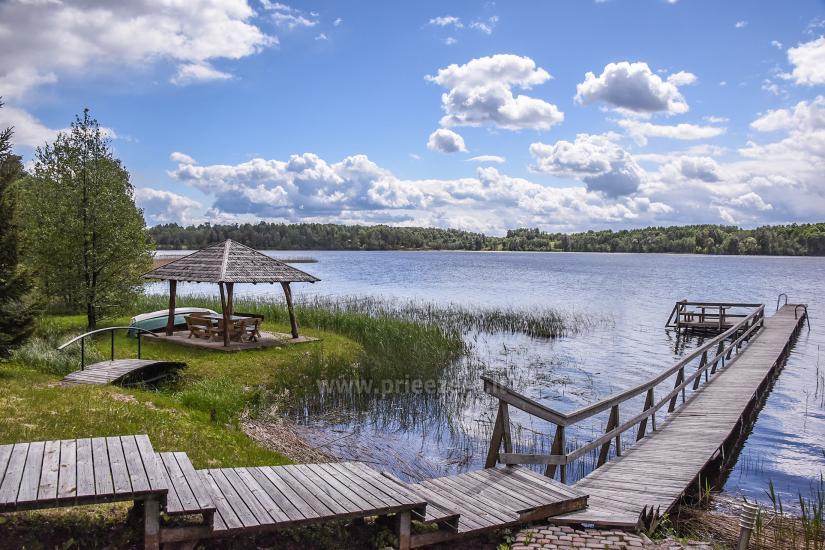 Countryside homestead near the lake Virintu in Lithuania - 34