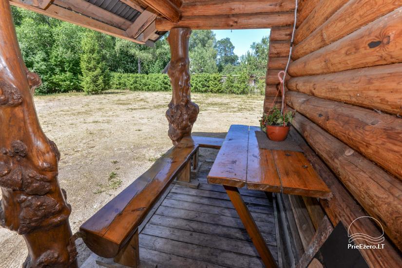 Rest near the river Ula in Varena region - homestead Ūlos akis - 41