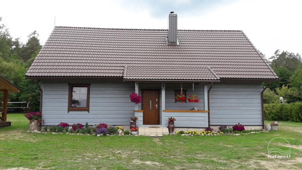 Rest near the river Ula in Varena region - homestead Ūlos akis - 49