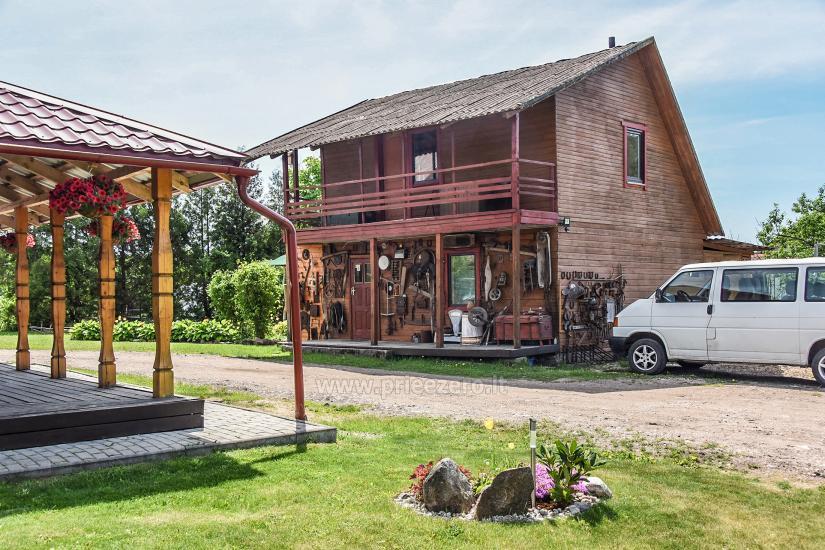 Landgasthaus in Ignalina, in Litauen JJ SODYBAt - 14