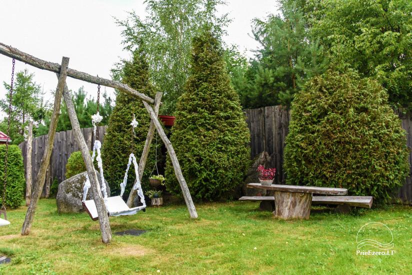 Виллы, сауна,  аренда залa  в 10 км от Клайпеды, рядом с мини-зоопарка, Йонушас - 8