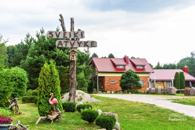 Wille, sauna, hala wynajem 10 km od Kłajpedy, w pobliżu minizoo, Jonušas - 1