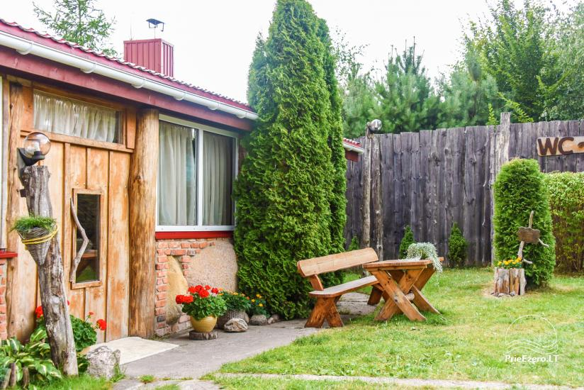 Wille, sauna, hala wynajem 10 km od Kłajpedy, w pobliżu minizoo, Jonušas - 11