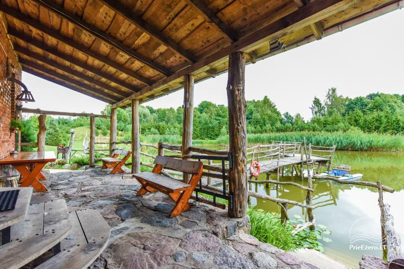 Виллы, сауна,  аренда залa  в 10 км от Клайпеды, рядом с мини-зоопарка, Йонушас - 17