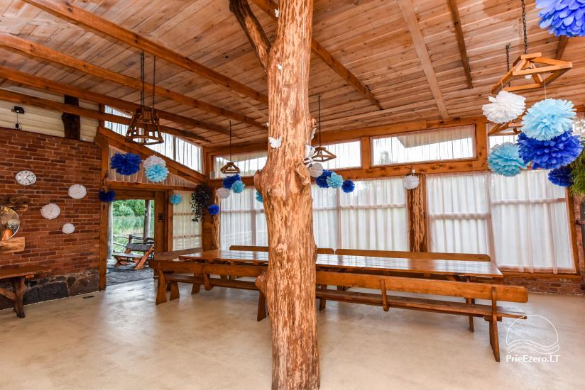 Виллы, сауна,  аренда залa  в 10 км от Клайпеды, рядом с мини-зоопарка, Йонушас - 21