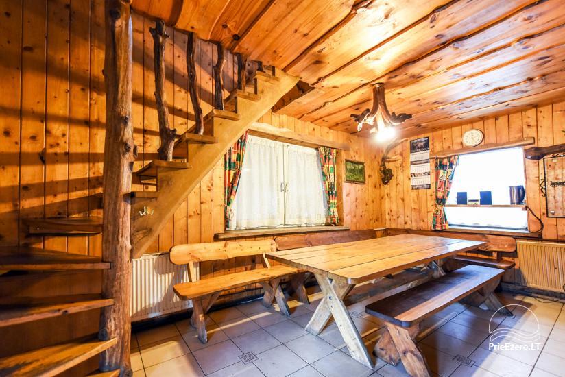 Виллы, сауна,  аренда залa  в 10 км от Клайпеды, рядом с мини-зоопарка, Йонушас - 24