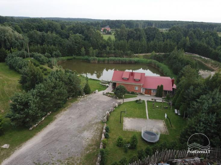 Виллы, сауна,  аренда залa  в 10 км от Клайпеды, рядом с мини-зоопарка, Йонушас - 2