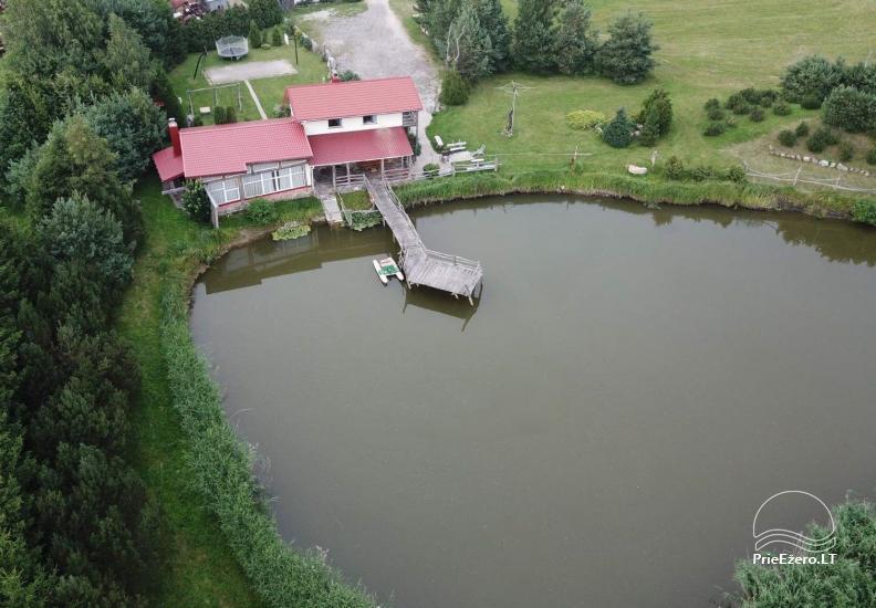 Виллы, сауна,  аренда залa  в 10 км от Клайпеды, рядом с мини-зоопарка, Йонушас - 1