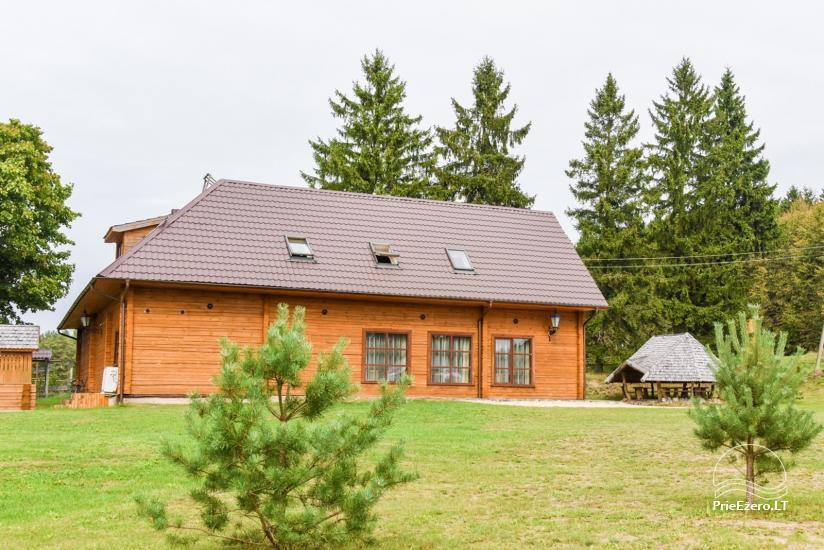 Wiejska rezydencja nad brzegiem rzeki Dubysa, na Litwie - 5