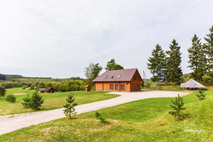 Wiejska rezydencja nad brzegiem rzeki Dubysa, na Litwie - 6
