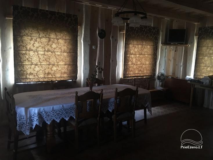 Gospodarstwo wiejskie w regionie Lazdijai nad jeziorem Glasto - 4