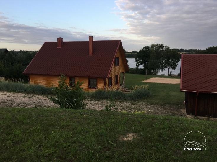Gospodarstwo wiejskie w regionie Lazdijai nad jeziorem Glasto - 2