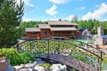Landtourismus-Gehöft in der Region Plunge, in Litauen