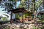 Домики для отдыха на озере Арино в Литве, в регионе Молетай