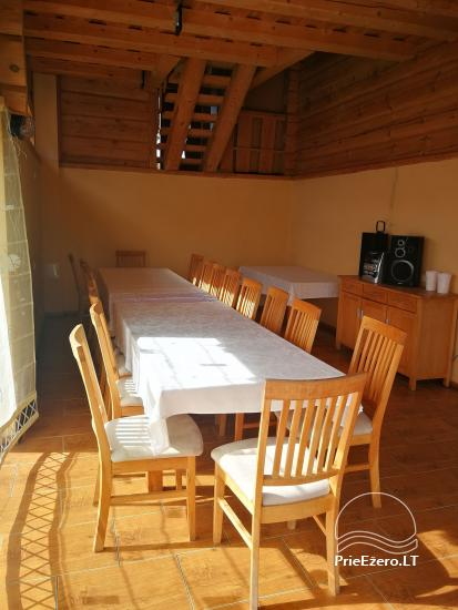 Little holiday houses for rent near Daugai lake in Lithuania, Alytus r. - 4