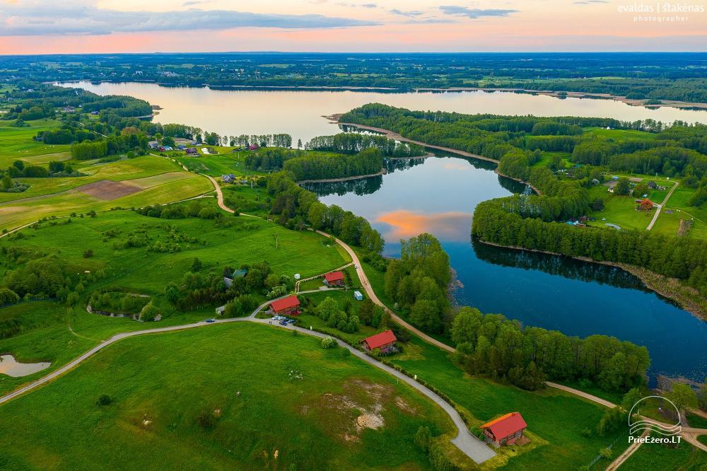 Little holiday houses for rent near Daugai lake in Lithuania, Alytus r. - 1