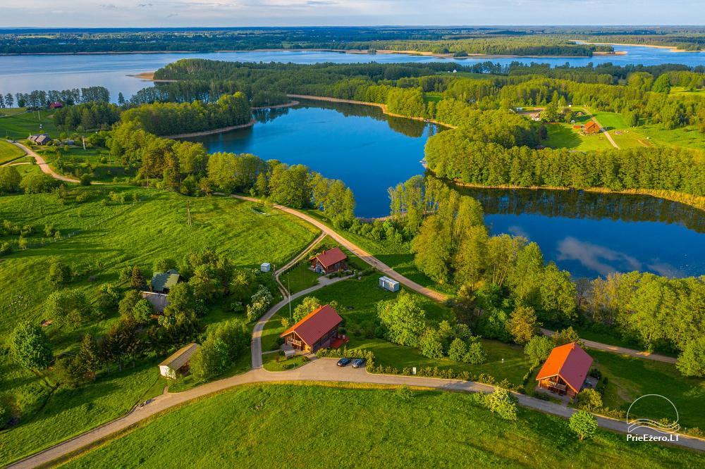 Little holiday houses for rent near Daugai lake in Lithuania, Alytus r. - 2
