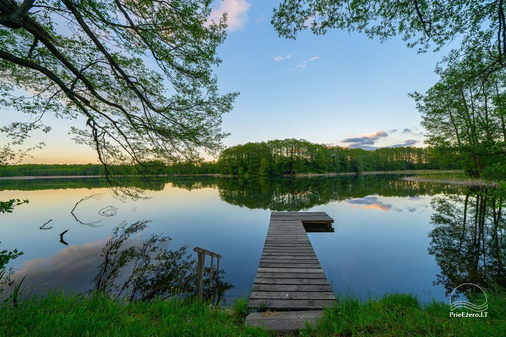 Little holiday houses for rent near Daugai lake in Lithuania, Alytus r. - 3