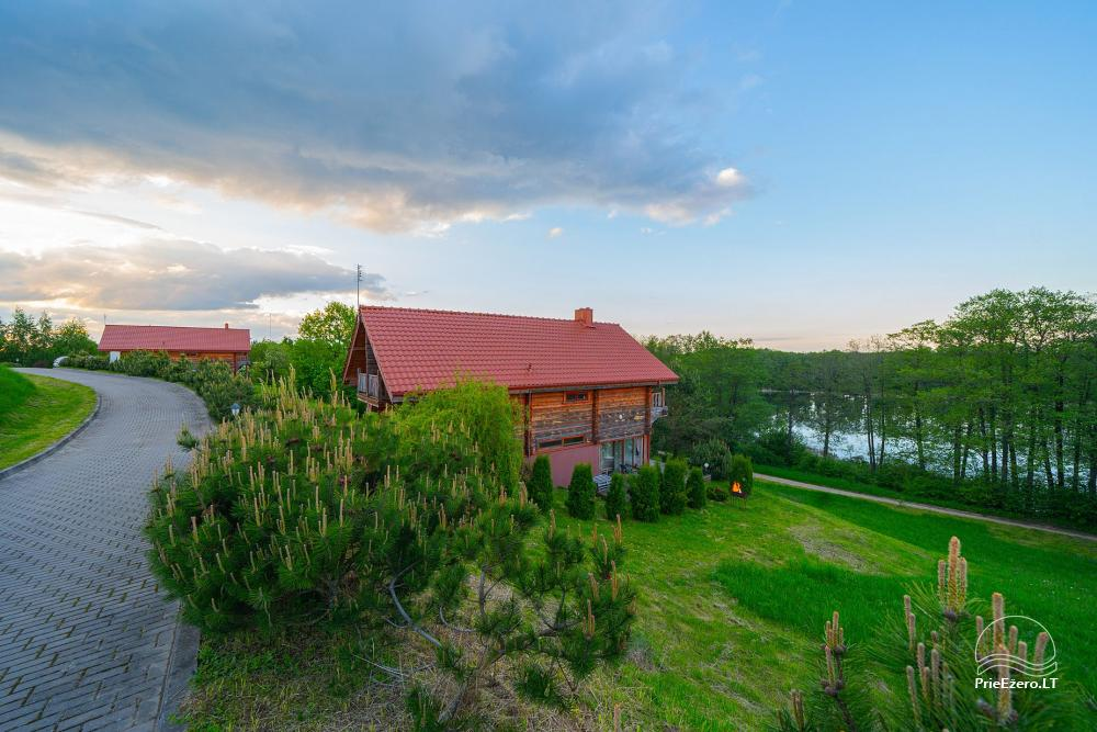 Little holiday houses for rent near Daugai lake in Lithuania, Alytus r. - 5