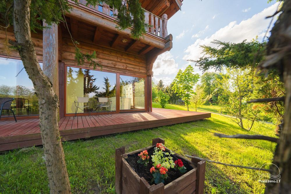 Little holiday houses for rent near Daugai lake in Lithuania, Alytus r. - 6