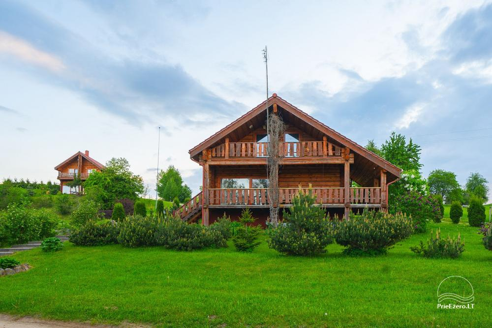 Little holiday houses for rent near Daugai lake in Lithuania, Alytus r. - 7