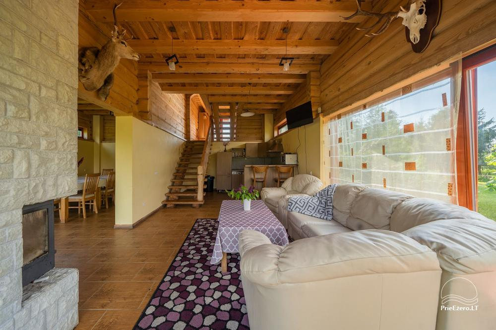 Little holiday houses for rent near Daugai lake in Lithuania, Alytus r. - 9