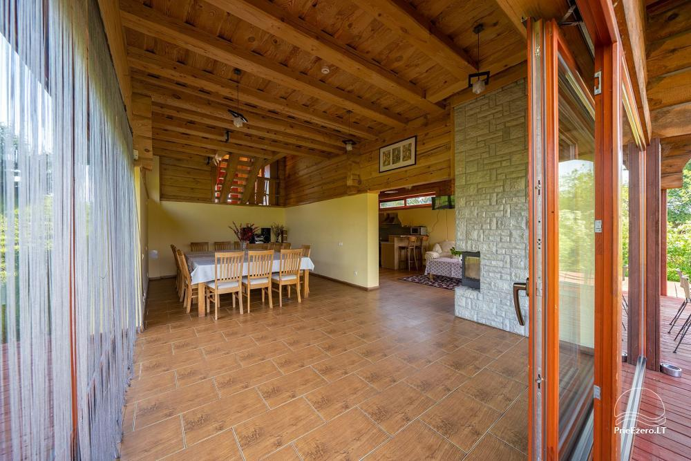 Little holiday houses for rent near Daugai lake in Lithuania, Alytus r. - 10