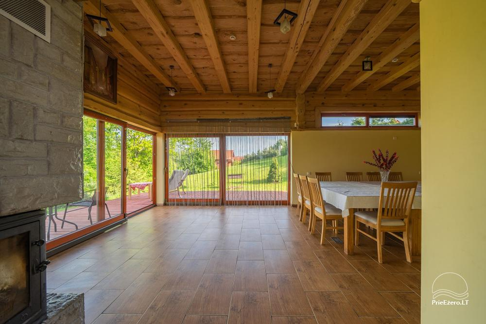 Little holiday houses for rent near Daugai lake in Lithuania, Alytus r. - 11