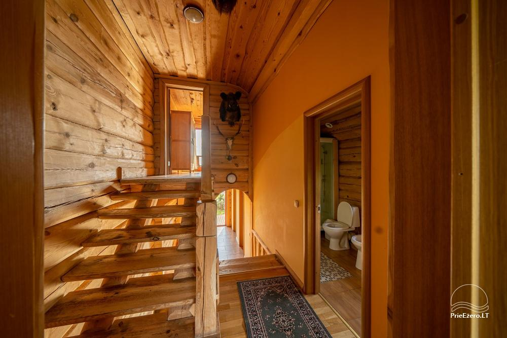 Little holiday houses for rent near Daugai lake in Lithuania, Alytus r. - 13