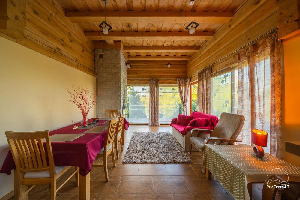 Little holiday houses for rent near Daugai lake in Lithuania, Alytus r. - 17