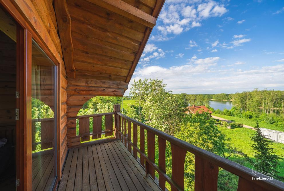 Little holiday houses for rent near Daugai lake in Lithuania, Alytus r. - 19