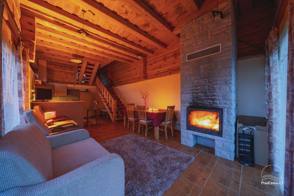 Little holiday houses for rent near Daugai lake in Lithuania, Alytus r. - 20