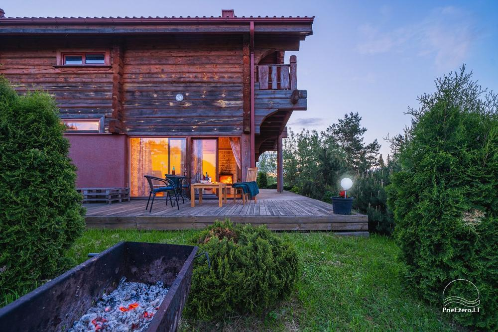 Little holiday houses for rent near Daugai lake in Lithuania, Alytus r. - 21