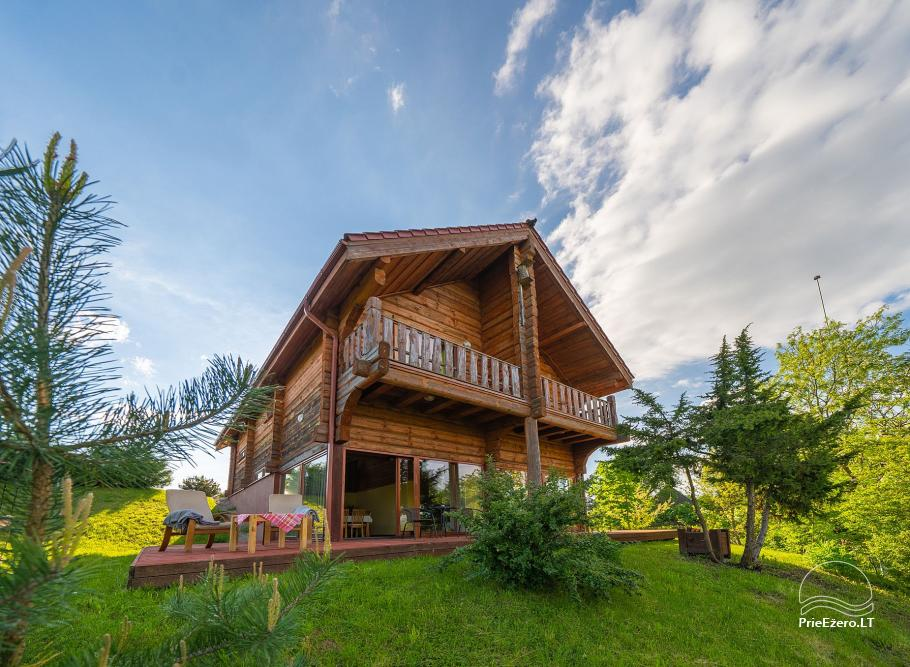 Little holiday houses for rent near Daugai lake in Lithuania, Alytus r. - 23