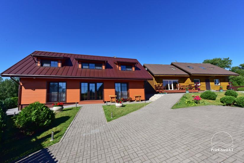 Guest house in Trakai PANORAMA – rooms, suites, sauna, yard with a view to Trakai castle - 14
