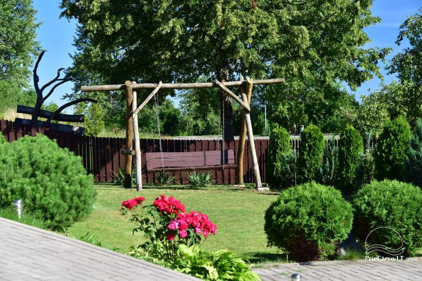 Guest house in Trakai PANORAMA – rooms, suites, sauna, yard with a view to Trakai castle - 9