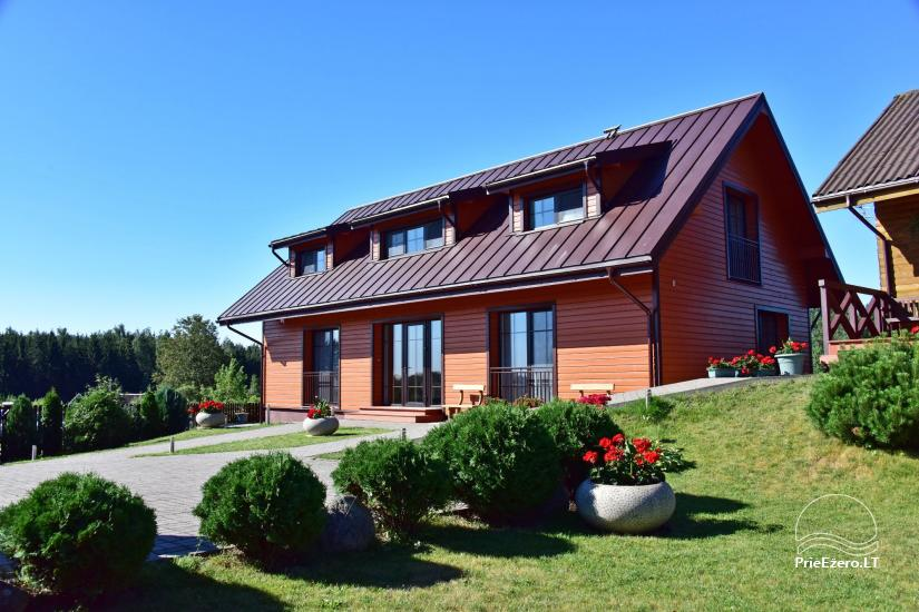 Guest house in Trakai PANORAMA – rooms, suites, sauna, yard with a view to Trakai castle - 1