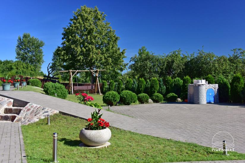 Guest house in Trakai PANORAMA – rooms, suites, sauna, yard with a view to Trakai castle - 6