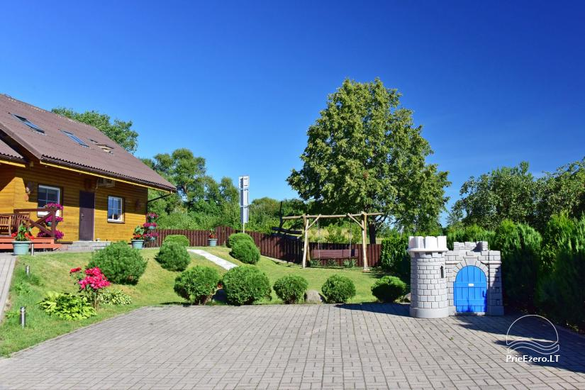 Guest house in Trakai PANORAMA – rooms, suites, sauna, yard with a view to Trakai castle - 3