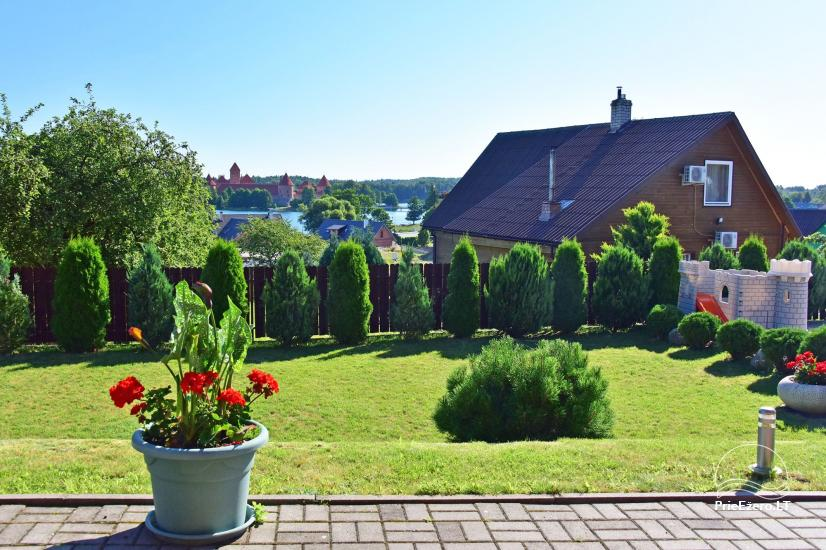 Guest house in Trakai PANORAMA – rooms, suites, sauna, yard with a view to Trakai castle - 10