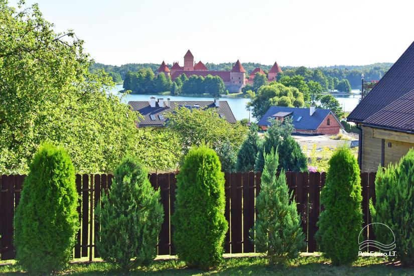 Guest house in Trakai PANORAMA – rooms, suites, sauna, yard with a view to Trakai castle - 11