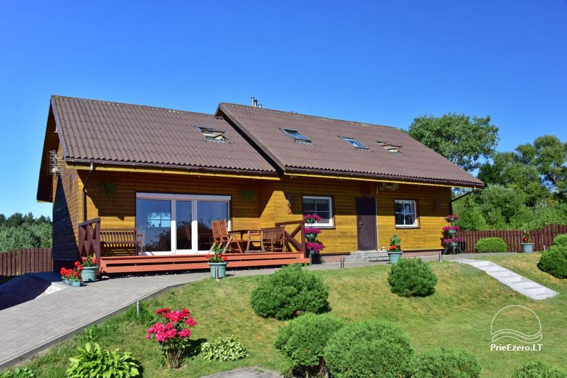 Guest house in Trakai PANORAMA – rooms, suites, sauna, yard with a view to Trakai castle - 2