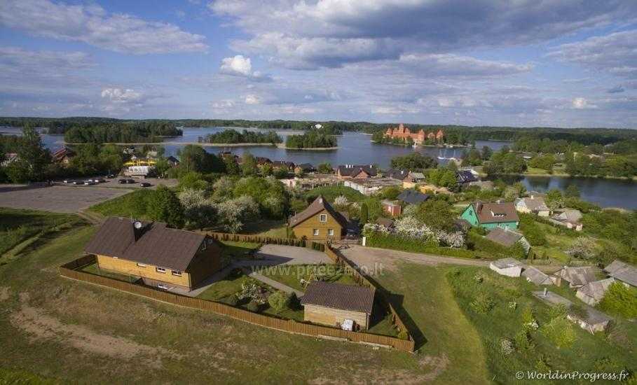 Guest house in Trakai PANORAMA – rooms, suites, sauna, yard with a view to Trakai castle - 17