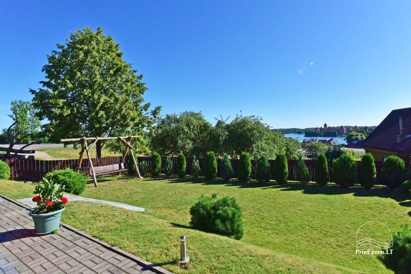 Guest house in Trakai PANORAMA – rooms, suites, sauna, yard with a view to Trakai castle - 7